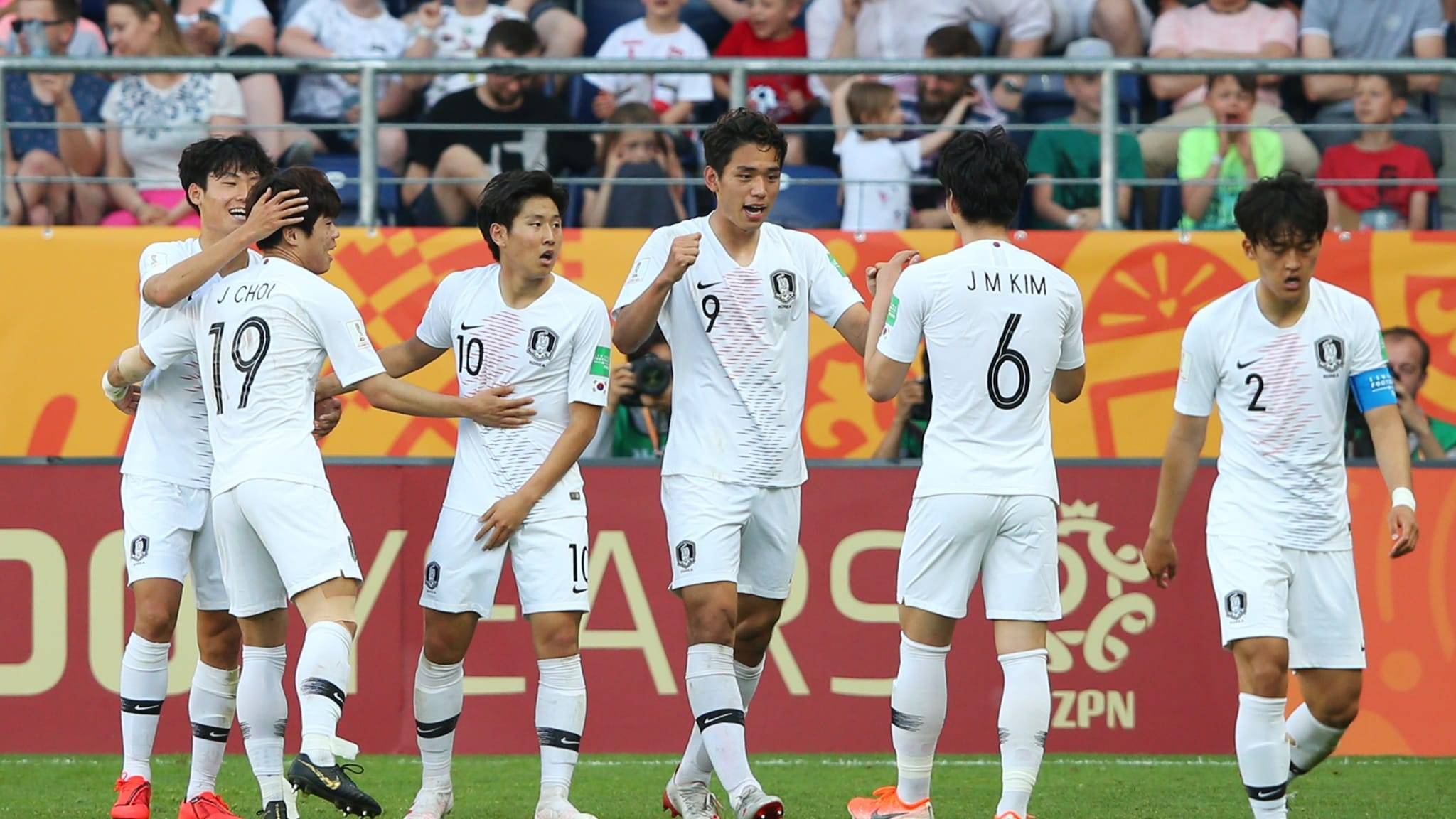 Korea Progress to U20 World Cup Quarter Finals