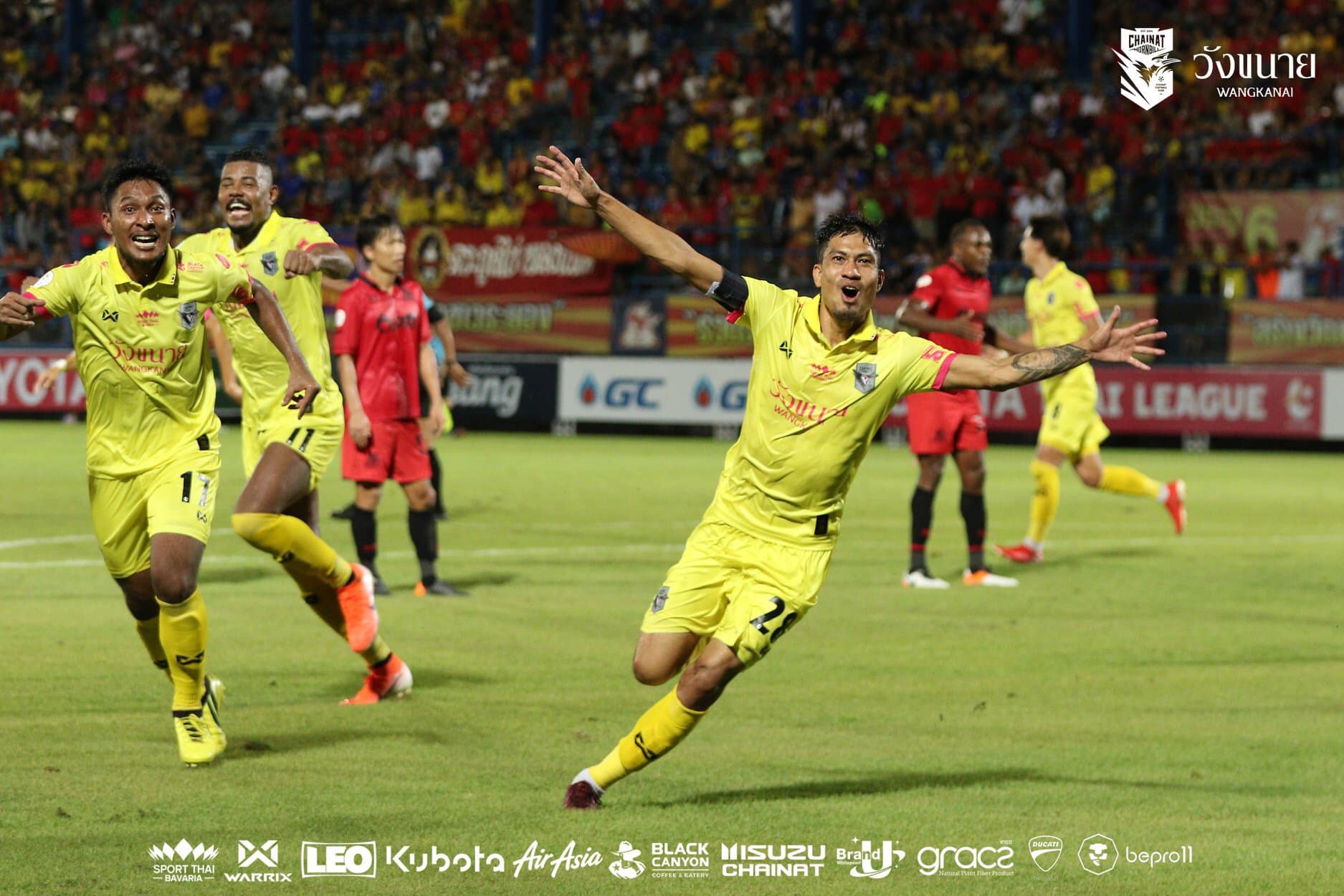 Chainat Out of Relegation Zone With Remarkable Away Win