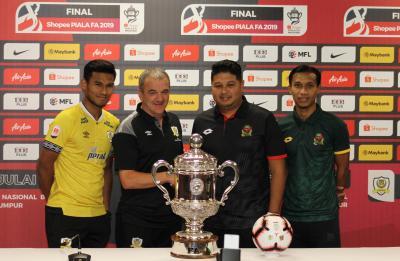 Perak and Kedah Face Off in FA Cup Final