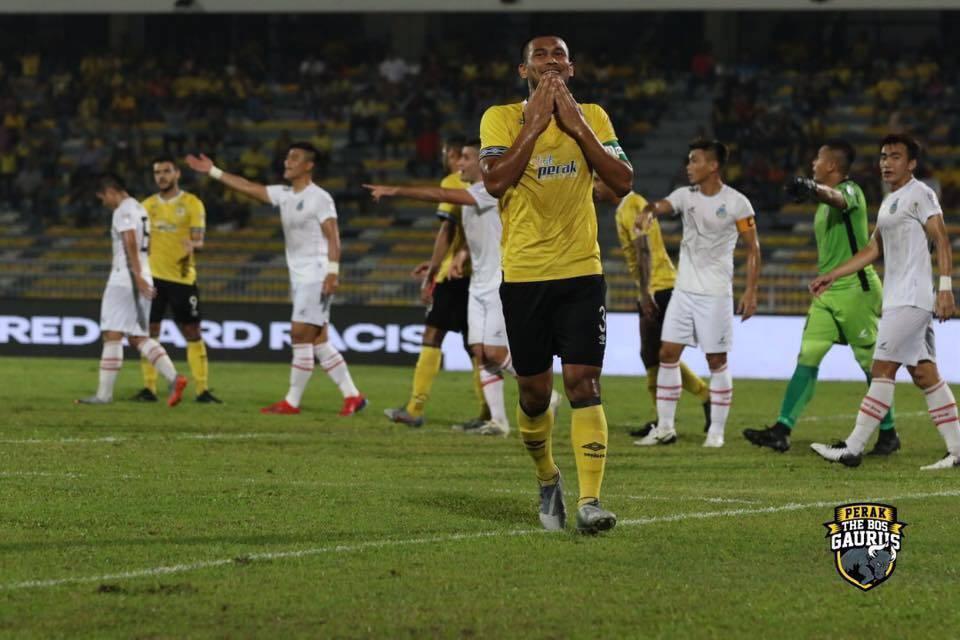 Perak Beat Sabah, PDRM Suffer Defeat Against Melaka United