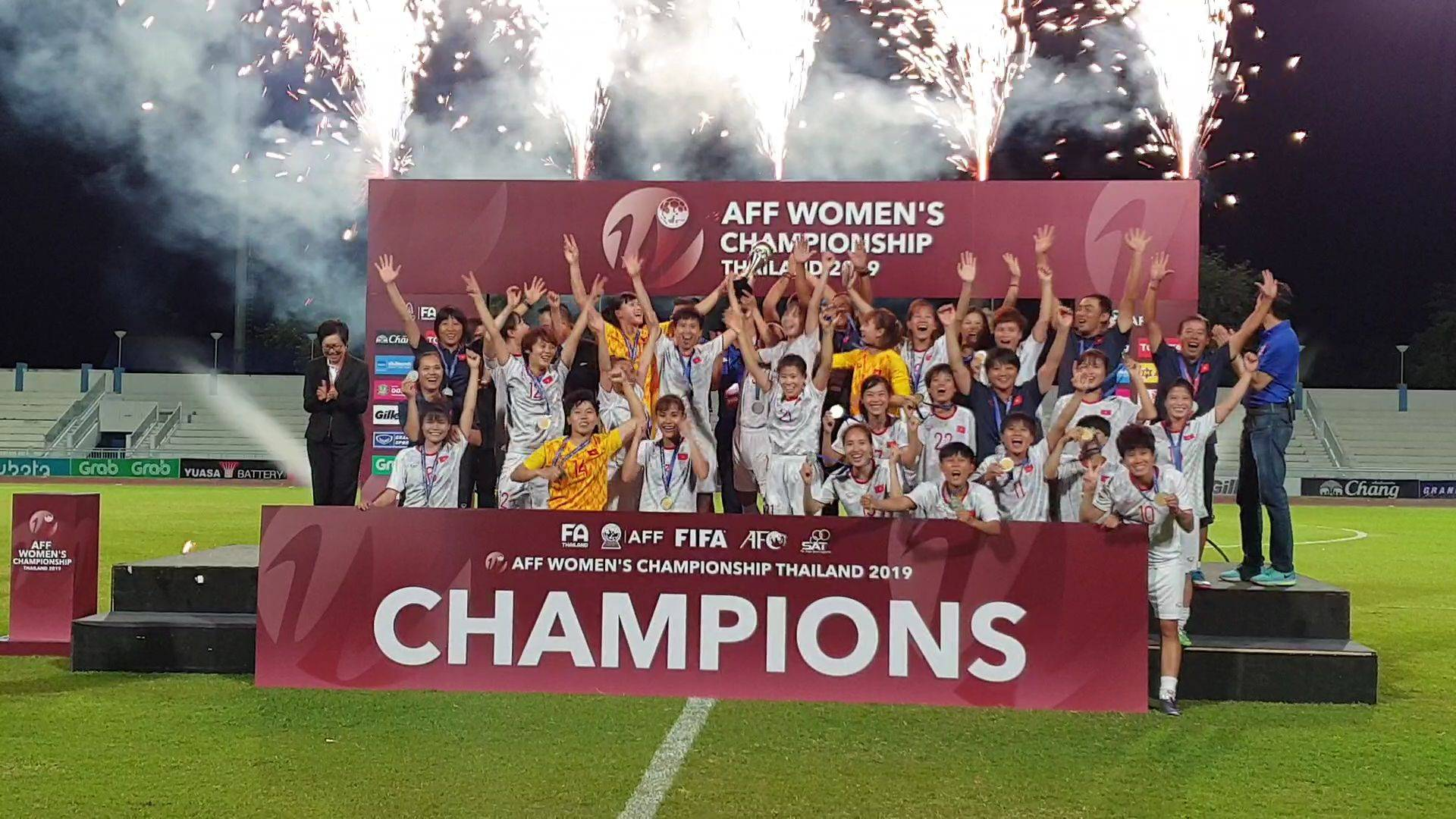 Vietnam Crowned AFF Women's Champions After Victory Over Thailand