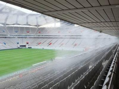 FC Seoul installs a fog cooling system for fans at stadium
