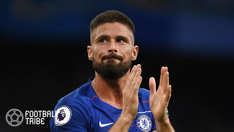 Olivier Giroud completes £1m move to AC Milan from Chelsea after becoming surplus to requirements at the Blues