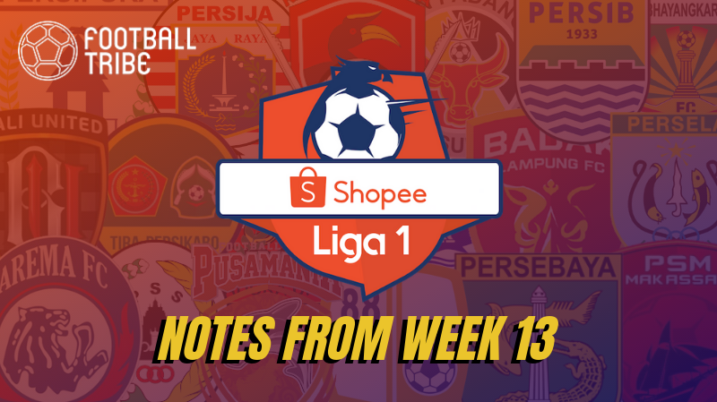 Indonesia Liga 1 Notes From Week 13 – There's a First Time for Everything…