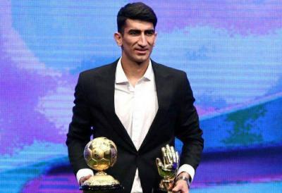 Persepolis's Beiranvand wins Iran League Player of the Season award