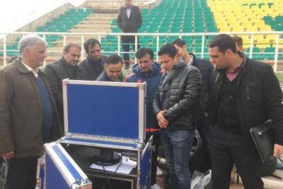 VAR test in 2019-20 Iran Pro league season