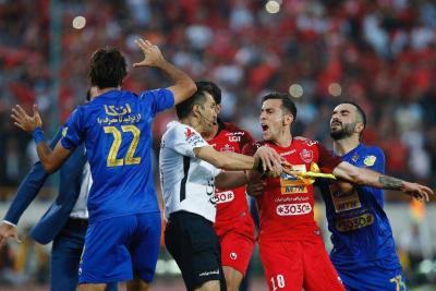 Persepolis winger suspended for clash in Tehran Derby