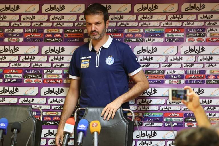 Stramaccioni hits back at Calderon before Tehran Derby