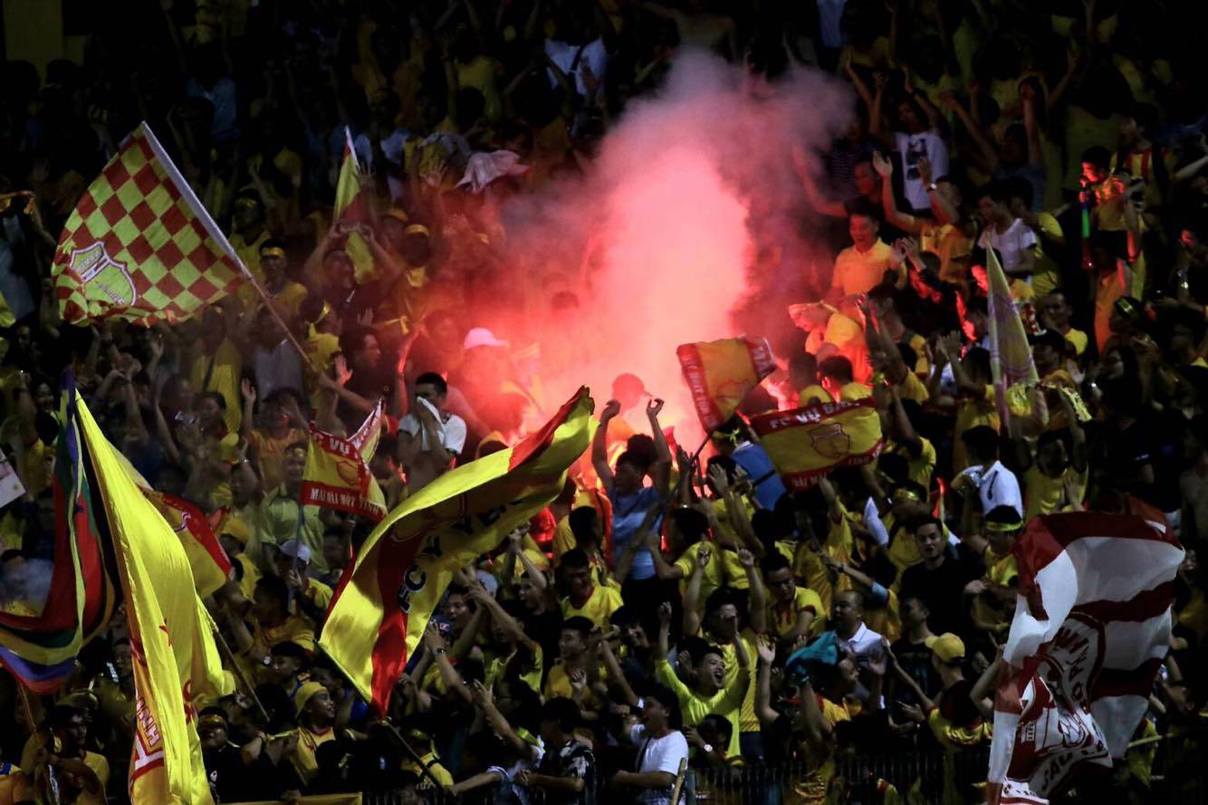 V.League Resumes Amid Fireworks Problem