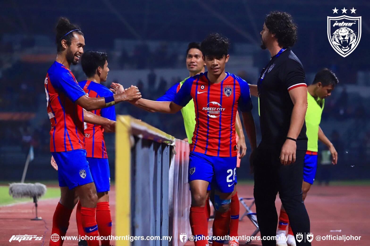JDT and Kedah Through to Malaysia Cup Quarter Final