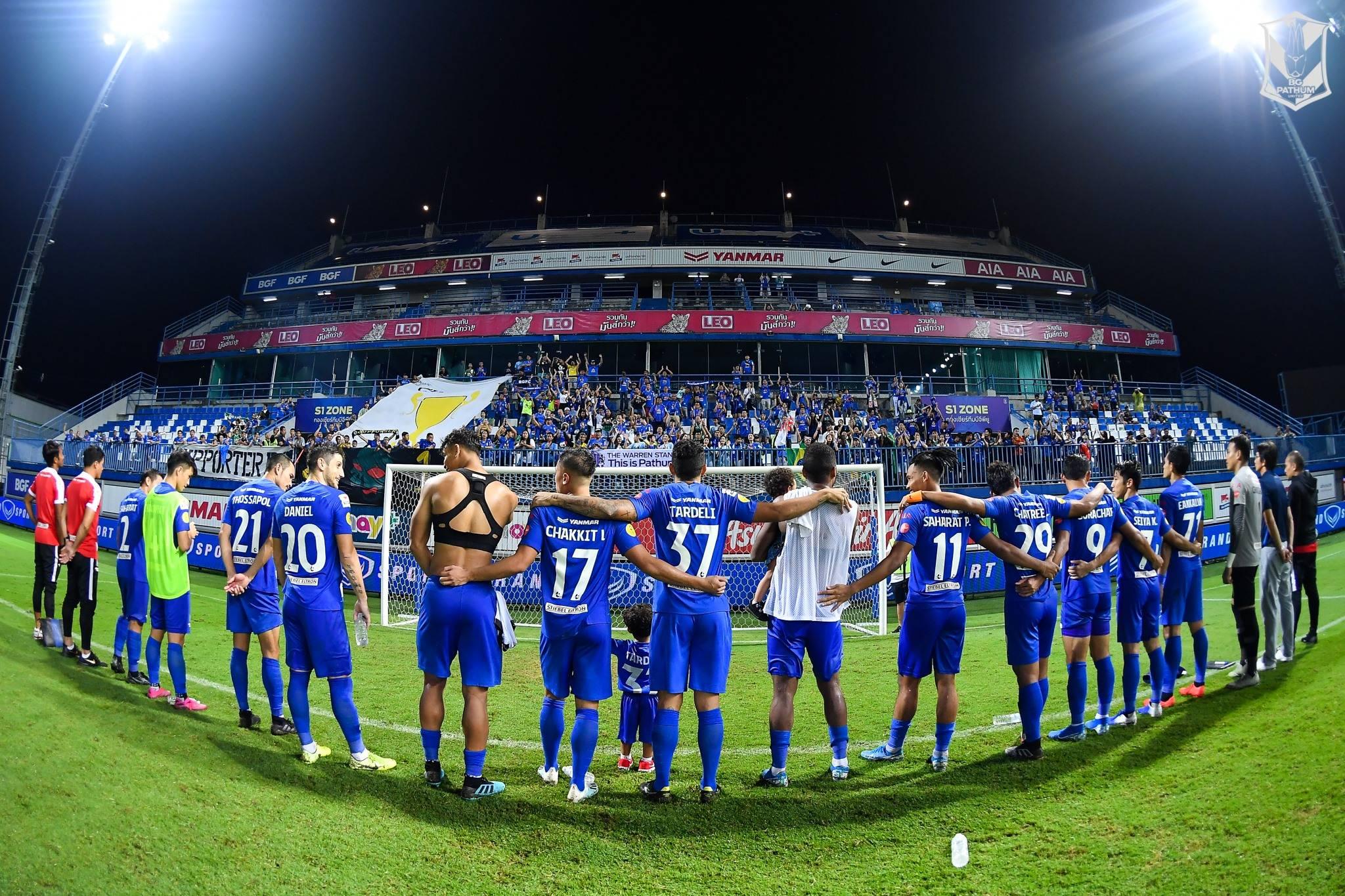 BG Pathum United Return to Thai League 1