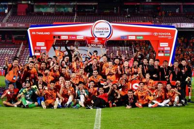 Prachuap Lift League Cup Trophy With Victory Over Buriram