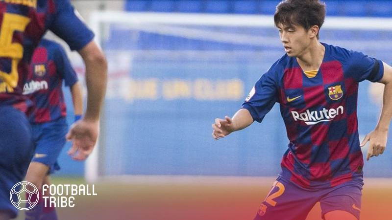 Hiroki Abe Listed in Barça's Champions League Squad