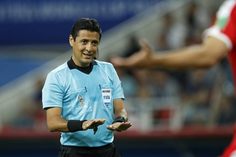 World Cup third place play off's referee will leave Iran league