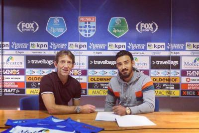 Iranian striker Reza Ghoochannejhad joined Dutch club Zwolle