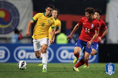Neymar will miss a friendly against S. Korea in November