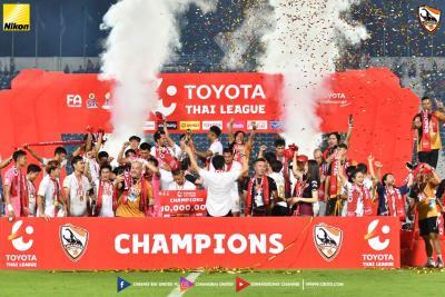 Chiangrai Crowned Thai League Champions