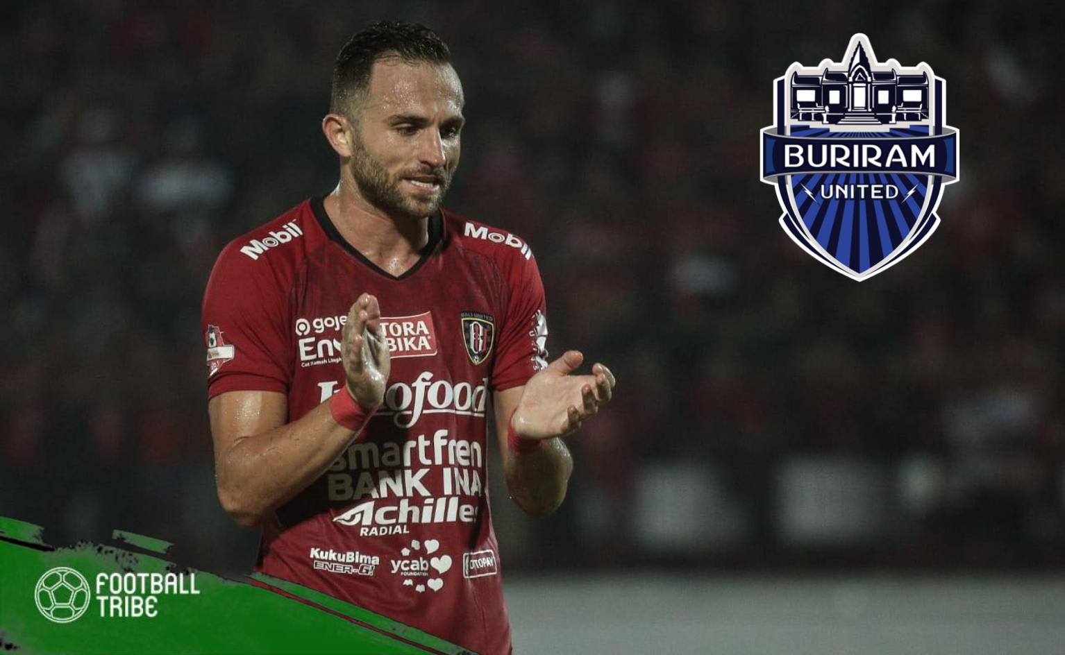Buriram United Target Bali's Naturalised Striker Ilija Spasojevic