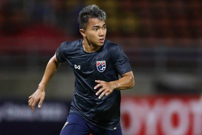 Chanathip Drops Out of Thailand Squad With Injury