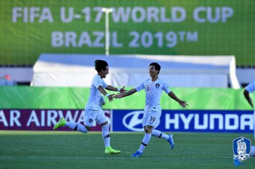 South Korea secured advancement with the fifth-quickest goal in the competition's history