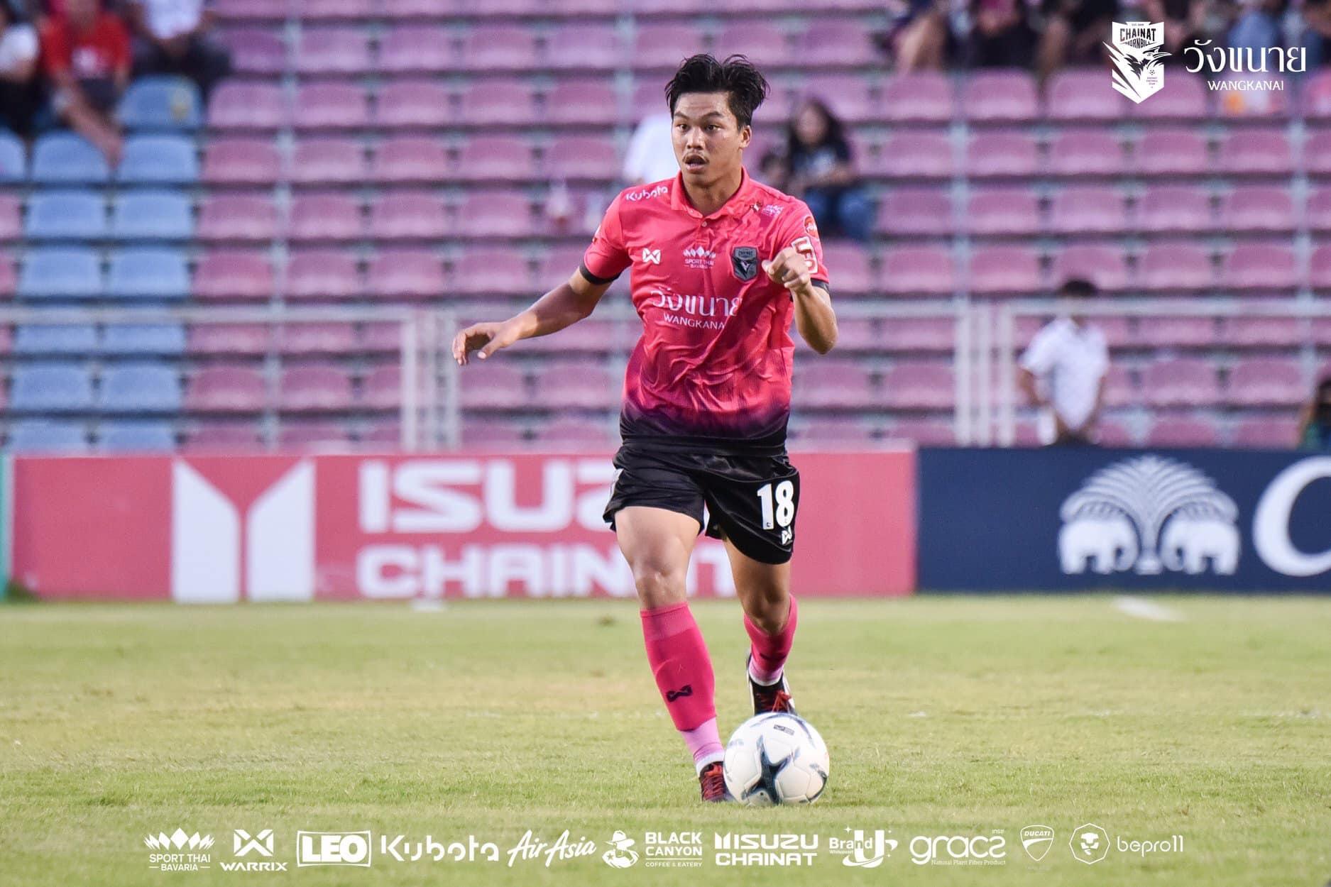 Buriram Target Chainat's Thai U23 International Jaturapat Sattham