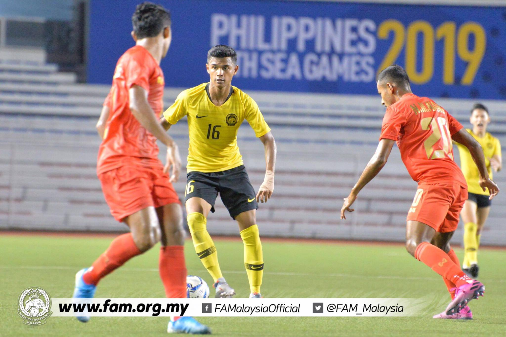Malaysia Open SEA Games Campaign With Draw Against Myanmar