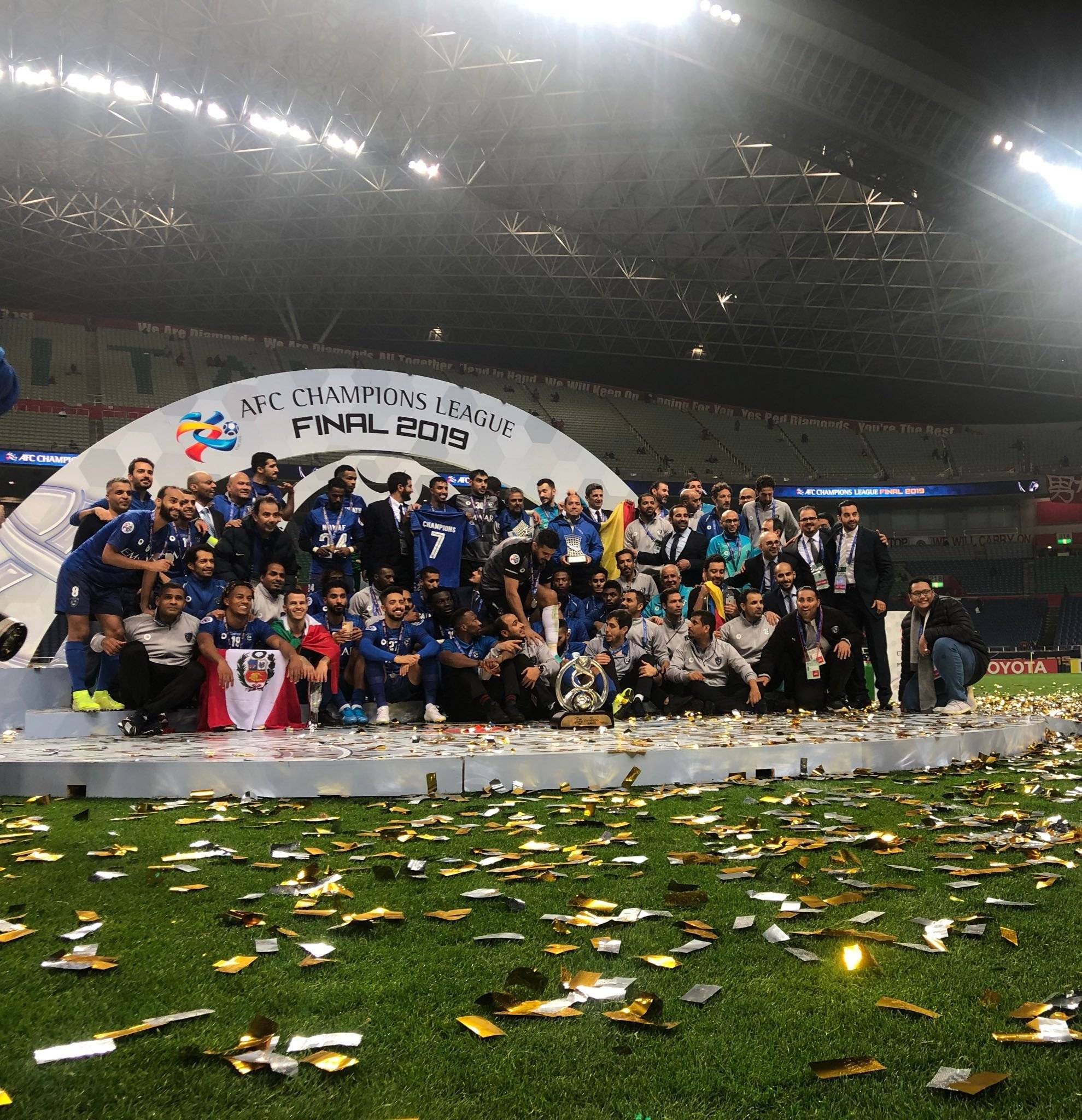 Al-Hilal Crowned Kings of Asia for the Third Time