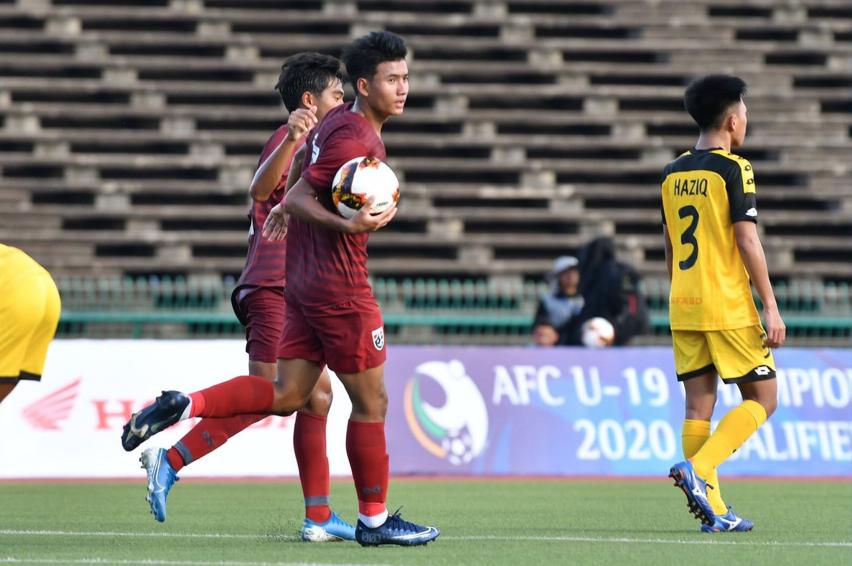 Thailand's U19's Hit Nine as AFC Qualifiers Get Underway