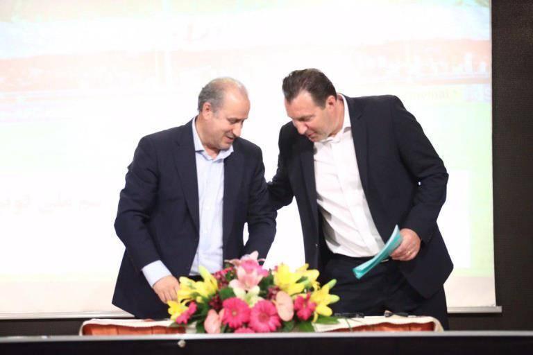 Mehdi Taj: Wilmits terminated his contract with Iran