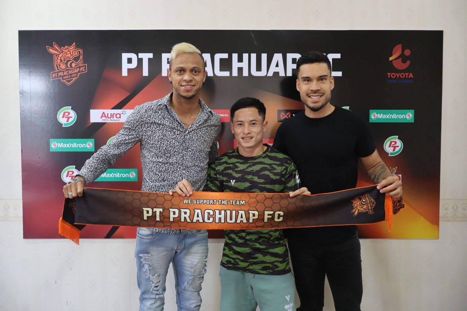 League Cup Winners Prachuap Strengthen Squad