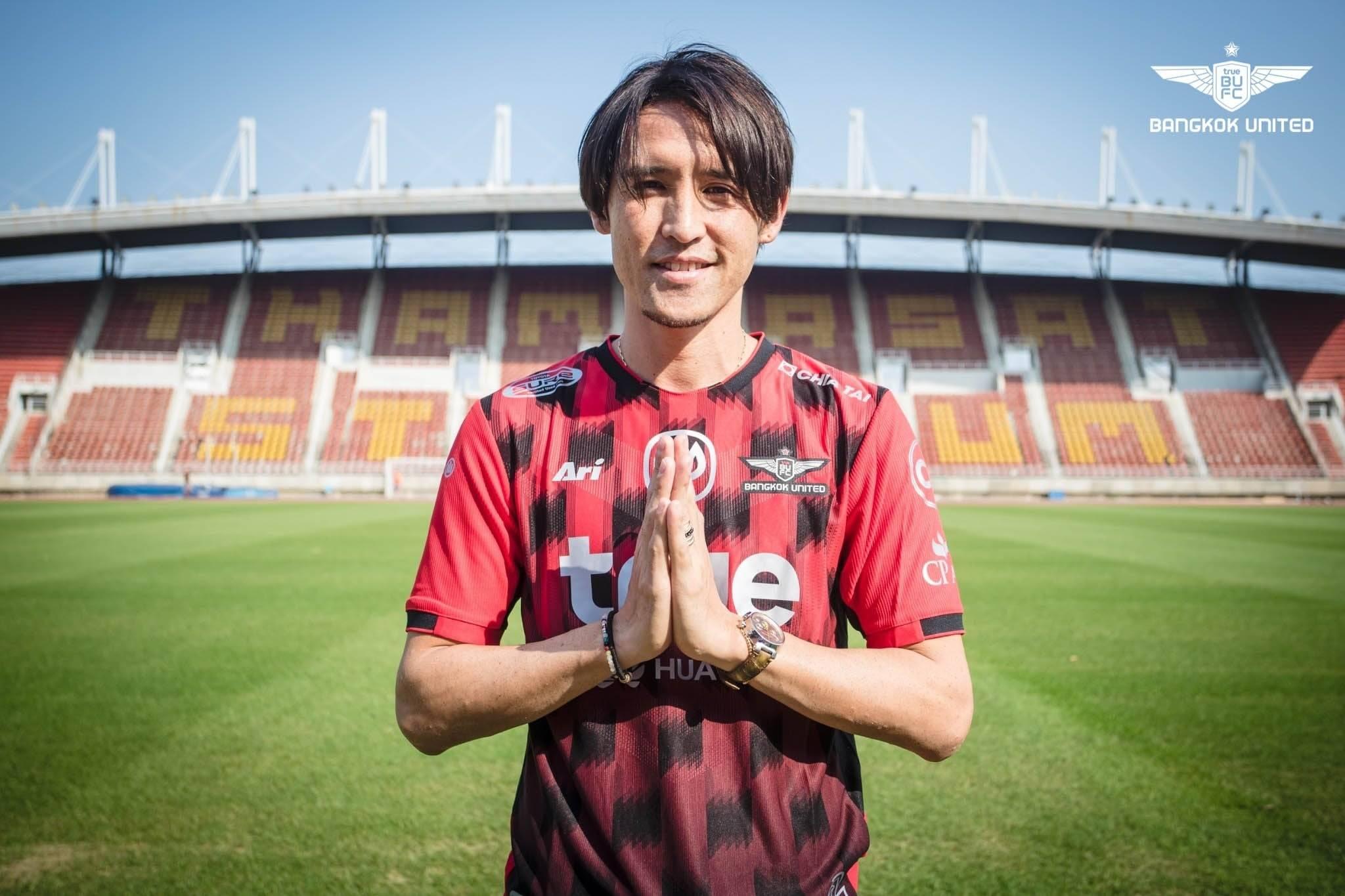 Former Japan International Hajime Hosogai Joins Bangkok United