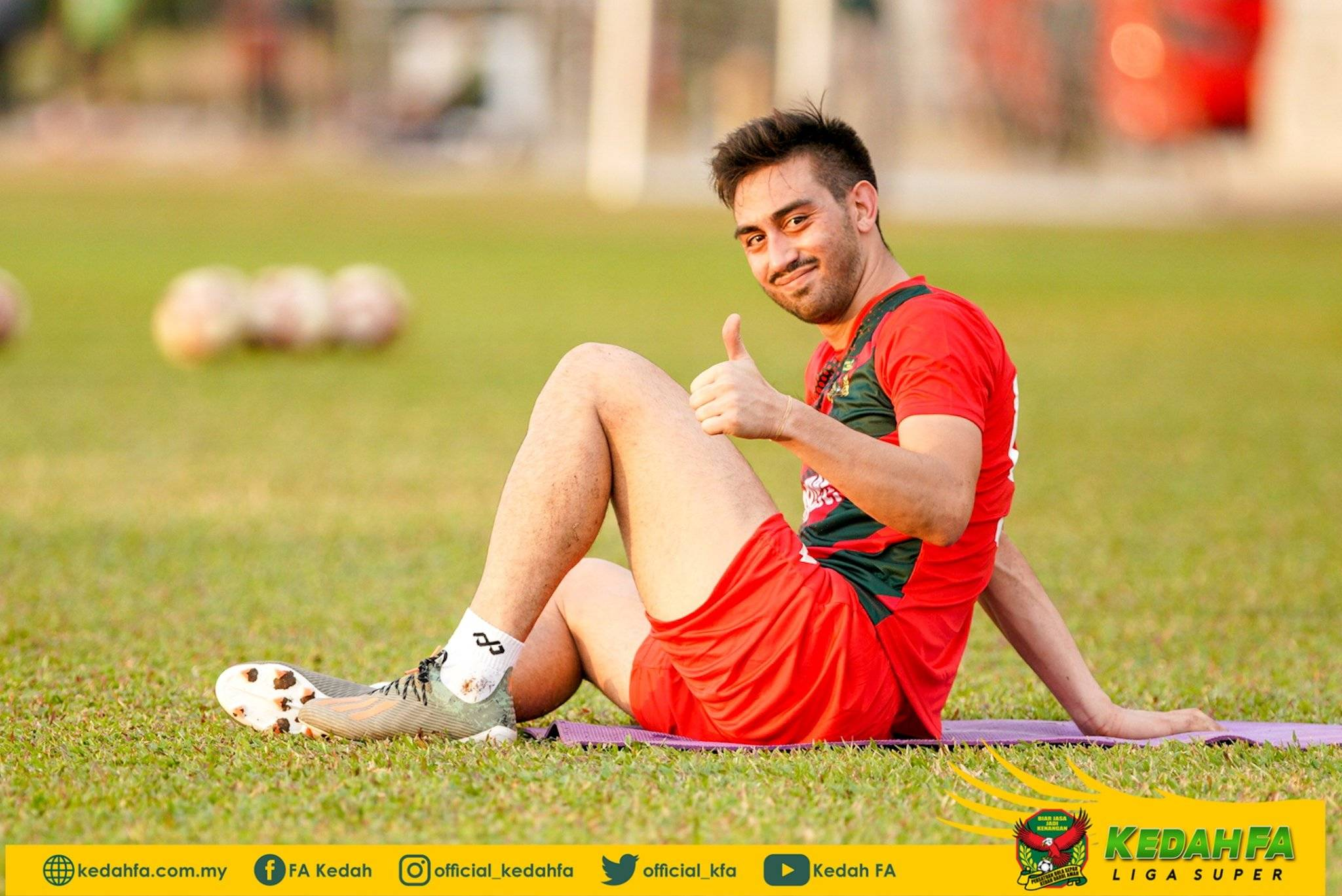 Kedah Sign Amin Nazari to Complete Foreign Quota