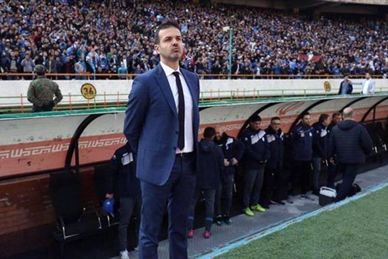 Stramaccioni: Esteghlal fans' protest for me was crazy