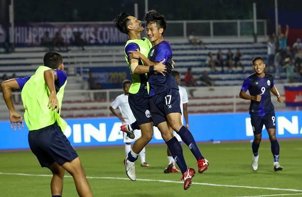 Cambodia Qualify for SEA Games Semi-Final