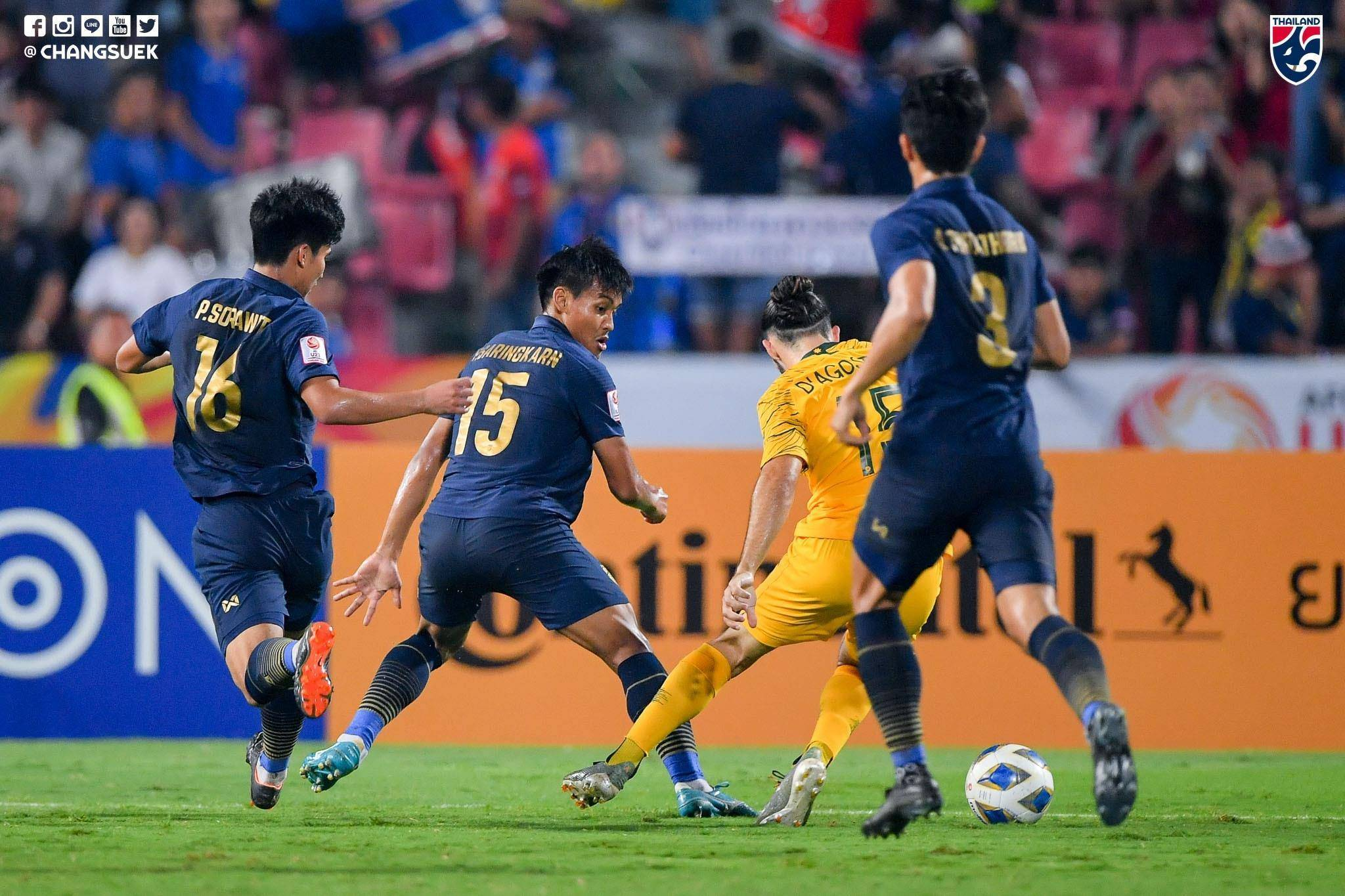 Five Things We Learned From Thailand's 2-1 Defeat to Australia