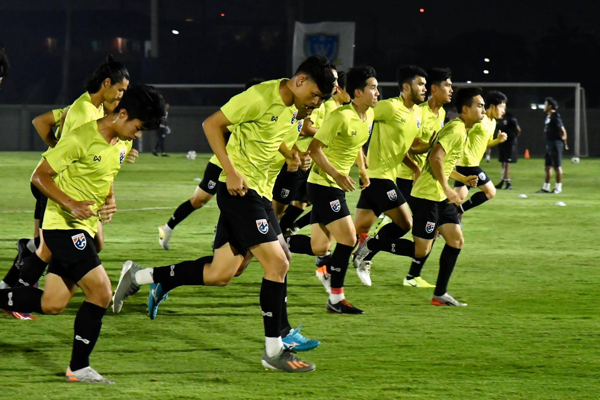 Thailand Prepare for Historic Saudi Arabia Clash