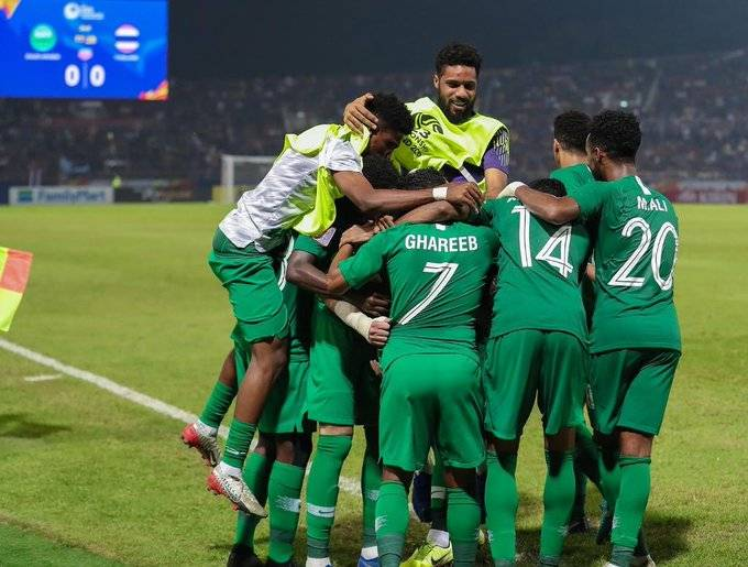 Saudi Arabia Advance After Controversial Penalty Call