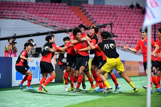 South Korea's U23 Side Crowned Champions of Asia