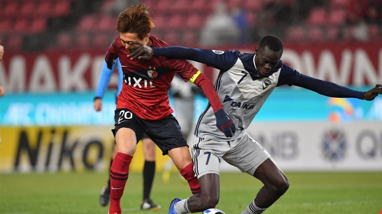 Tokyo Slip Through As Kashima Crash Out