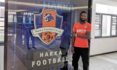 Thai League Top Scorer Lonsana Doumbouya Joins Meizhou Hakka