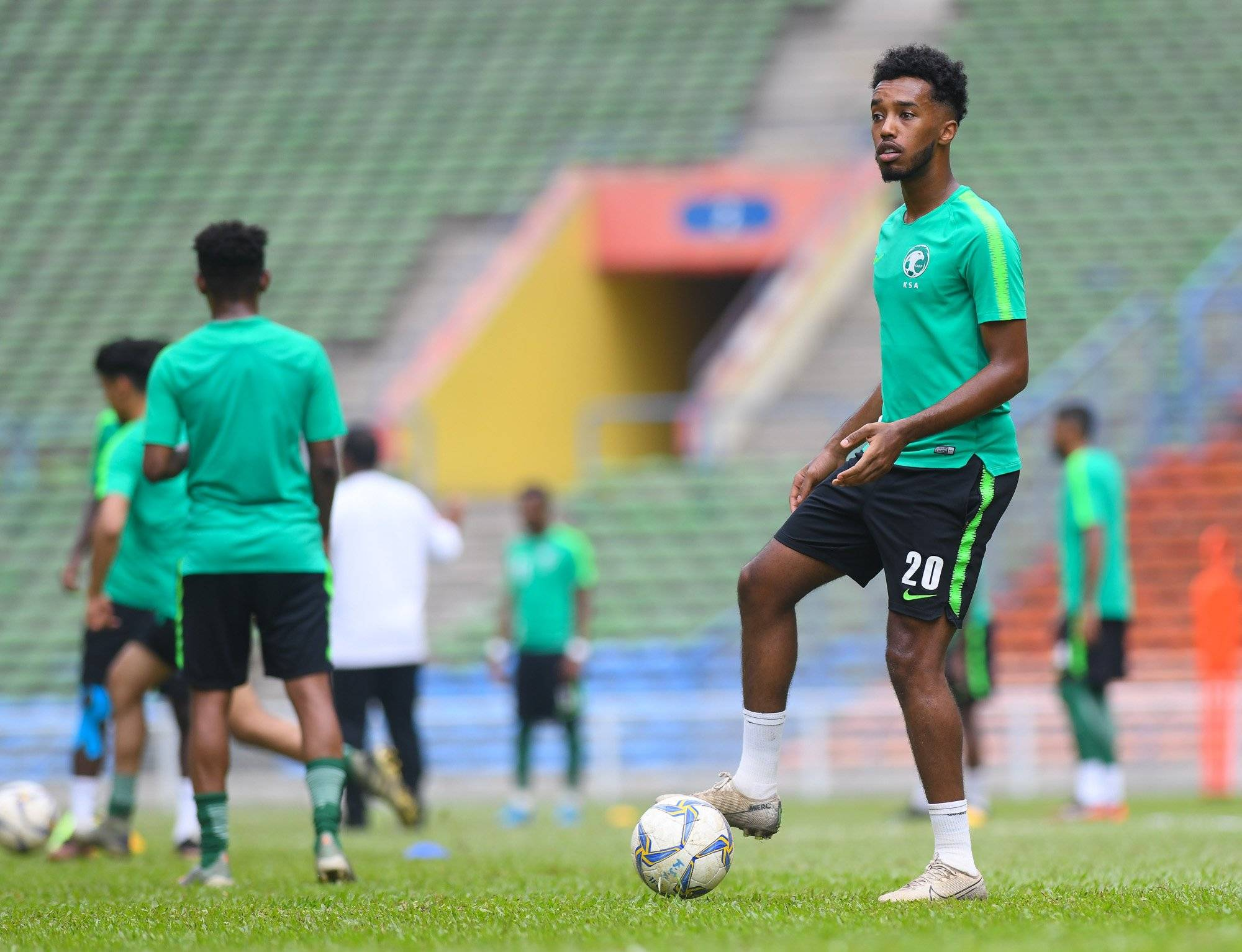 Ex-Chelsea youngster can't wait to kick off Saudi AFC U23 Championship adventure