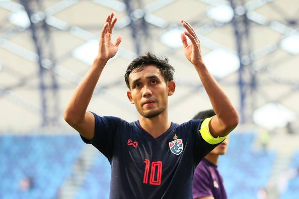 Rumours Intensify as Thai Striker Teerasil Dangda Hints at J-League Move