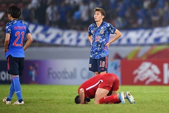 Japan Eliminated from AFC U23 Championships