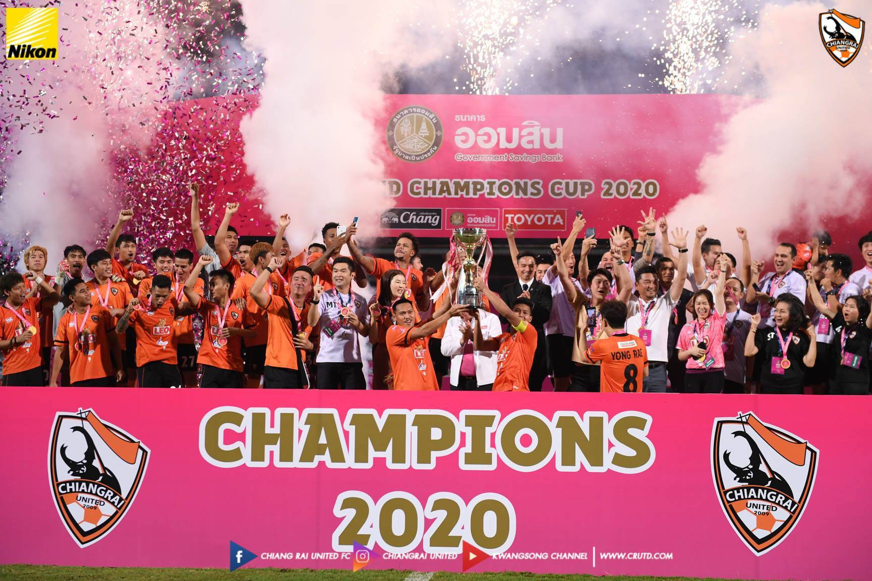Chiangrai Reap the Rewards of Their Patience Yet Again in 2020 Champions Cup