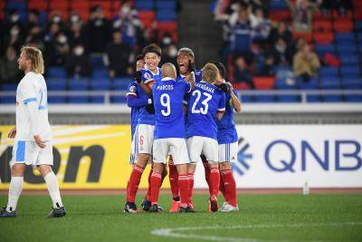 Nakagawa and Onaiwu Hand Marinos One-Sided Victory Over A-League Visitors