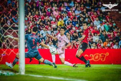 Bangkok United Take Full Points From Kirin's Clutches