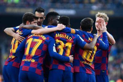 Barca Beat Getafe and Keep Pressure on Real Madrid