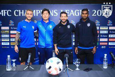 JDT Welcome Suwon Bluewings to Sultan Ibrahim Stadium
