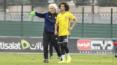 UAE National Team Sack Coach Ivan Jovanovic