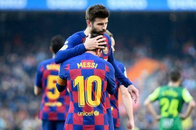 Pique Doesn't Shy from Truth as Barcelona Face Tough Test